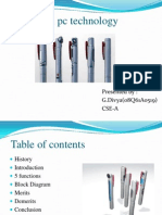 5 Pen PC Technology Powerpoint Presentation