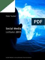 SocialMedia Leitfaden Peter Tauber 2013