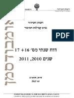 """דו""""ח נציב קבילות הציבור, 2010-2011"""