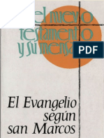 Schnackenburg Rudolf El Evangelio Segun San Marcos 01