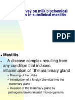 Mastitis in dairy cows