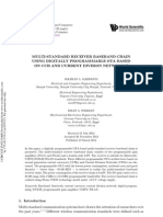 Multi-standard Receiver Baseband Chain Using Digitally Programmable Ota Based on Ccii and Current Division Networks