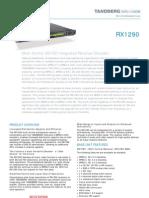 Tandberg RX1290 Receiver