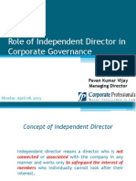 Role of Independent Director Incorporate Governance