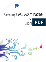 Samsung Galaxy-note Usermanual