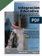 Integración Educativa