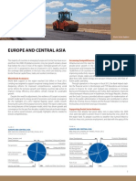 Europe and Central Asia - 2012