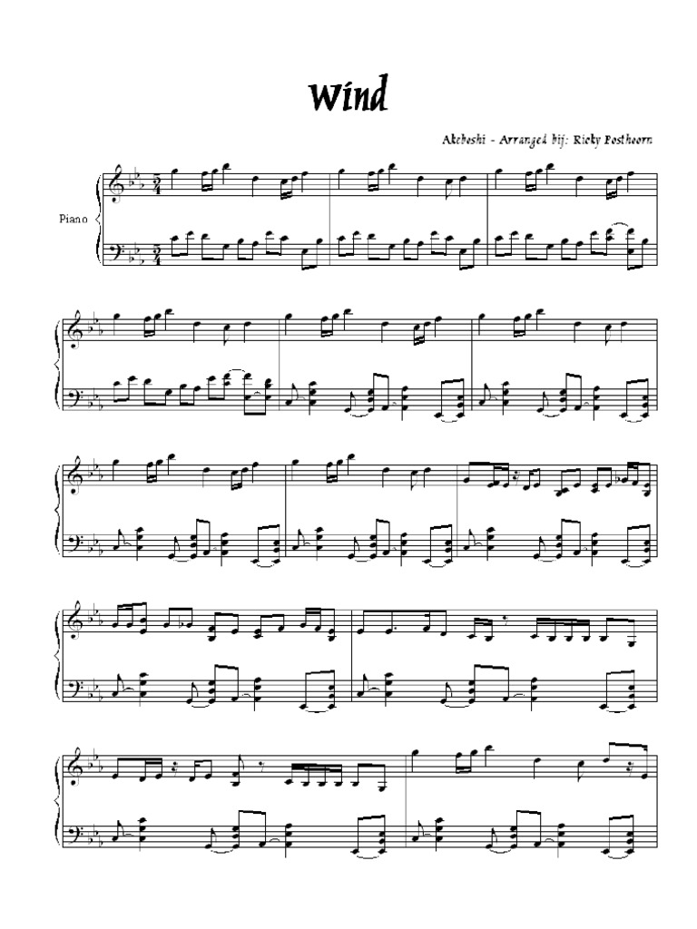 For Piano