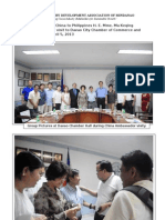 China Ambasador Visit to Davao Chamber Photo Highlights