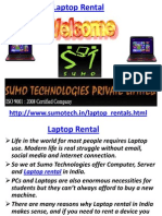 Laptop Rental