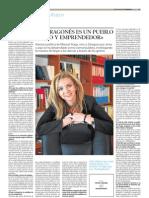Heraldo de Aragón 7 abril 2013