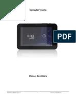 E-Boda Impresspeed E200 Manual de Utilizare