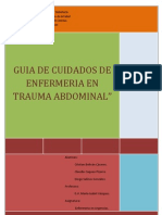 Guia Clinica de Trauma Abdominal