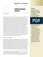 India and international peace operations