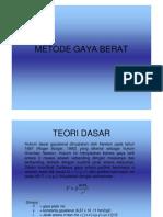 Metode Gaya Berat2 Compatibility Mode