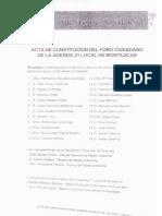 Acta 1_Constitucion Del Foro Medio Ambiente