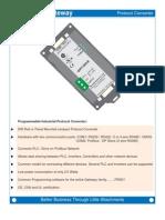 Protocol Converter RS232, 485 Profibus