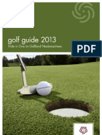 golf guide 2013