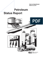 Weekly Petroleum Status Report