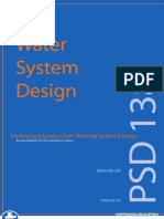 Water System Design