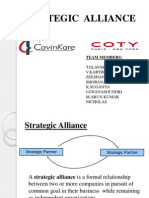 Strategic Alliance between Cavinkare and Coty