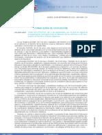 Orden EDU-70-2010 Evaluación