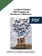 Short-Haul Flights - Still Clogging Up Heathrow's Runways Copy