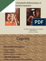 Domniile lui Constantin Br+óncoveanu si Dimitrie Cantemir2