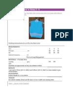 4 Ply Vee Neck Vest in Sizes 2