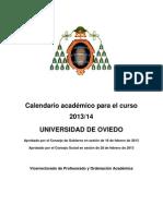 CALENDARIO ACADEMICO 2013-14