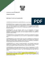 PORTARIA REMOÇÃO MÉDICOS PARA HOSP MARIA ALICE FERNANDES