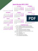 Calendario Cole