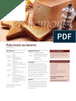 R1202 Pain Toast Au Beurre