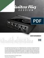Guitar Rig Session IO Manual German