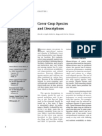 Cover Crop Species and Descriptions