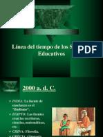 lneadeltiempodelossistemaseducativosdiapositivas-090820235304-phpapp02