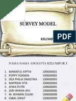 Survey Model Kelompok 1 (1)