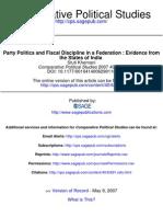 Comparative Political Studies 2007 Khemani 691 712
