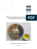 Gender Agricultural Innovation