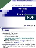 Routage Et Protocoles