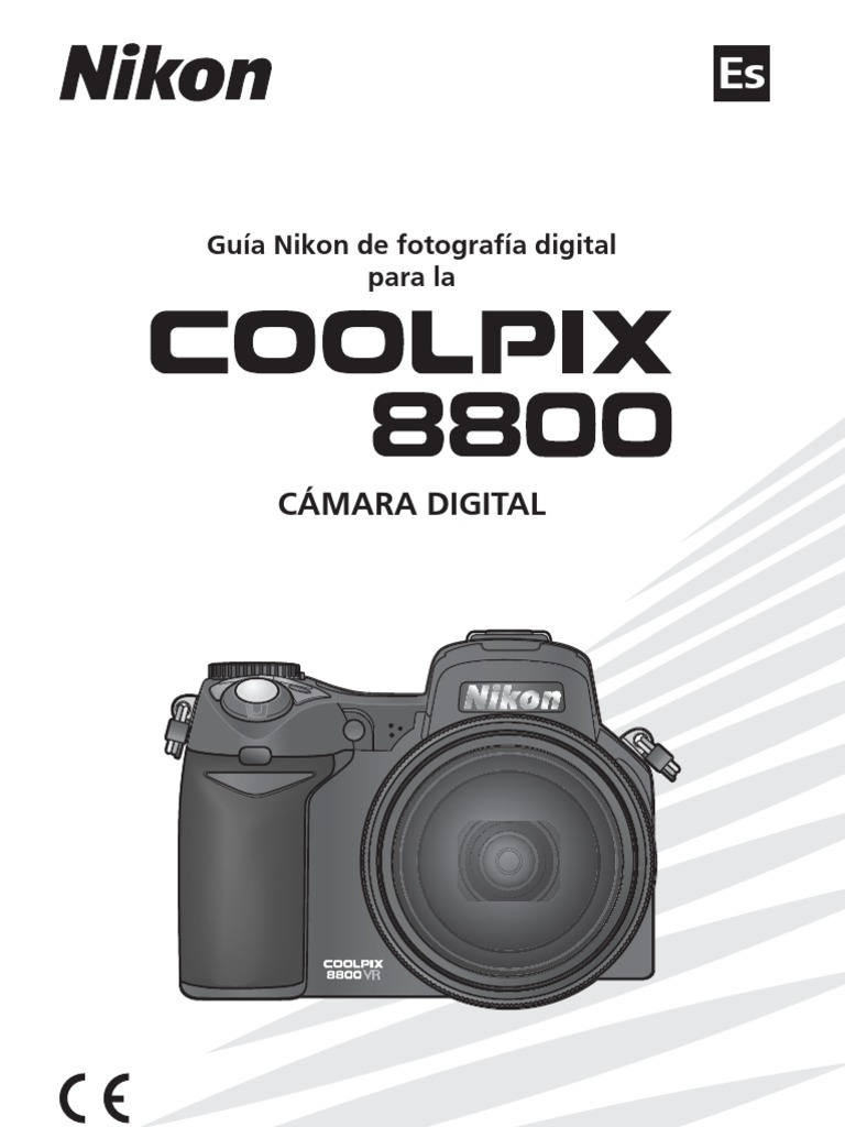 MANUAL Nikon Coolpix 8800