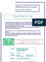 Self Acceptance Omagh 27April 7pm