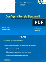 Configuration de Send Mail
