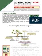 La matière organique