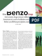 Benzo Anti-Anxiety Drugs