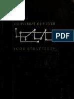 Conversations With Igor Stravinsky