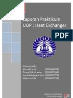 Laporan praktikum Heat Exchanger