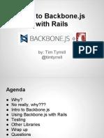 Using Backbone.js With Rails