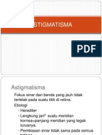 Astigmatisma Ppt Tutor