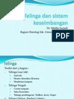 Telinga Dan Sistem Keseimbangan 2003
